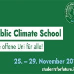 People´s Climate Case bei der Public Climate School